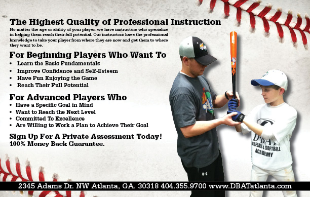 professional instruction flyer back